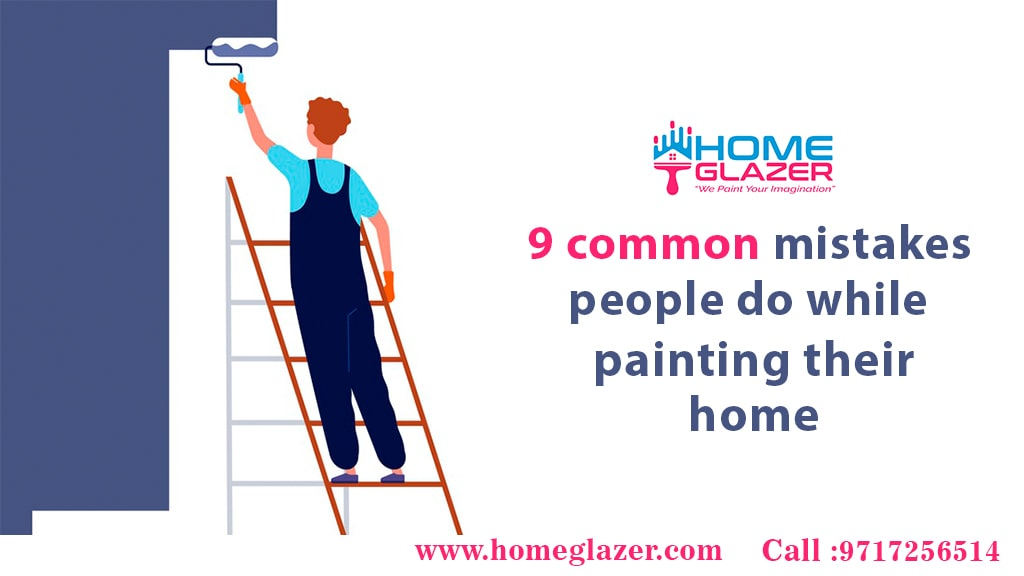 9 common mistakes usually painters do while painting