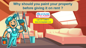 5 benefits for landlords to paint the property before giving it on rent