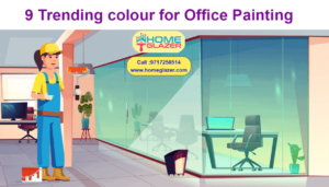 9 Trending colour for Office Painting | Trending colours for commercial space