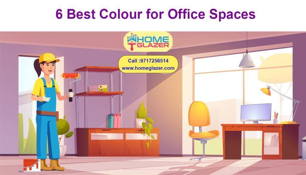 6 Best Colour for Office Spaces | Trending office wall colour