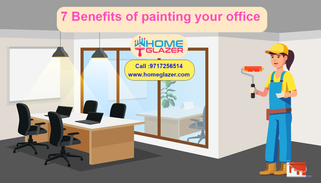 7 Benefits of painting your office | Paint Your Office & increase productivity