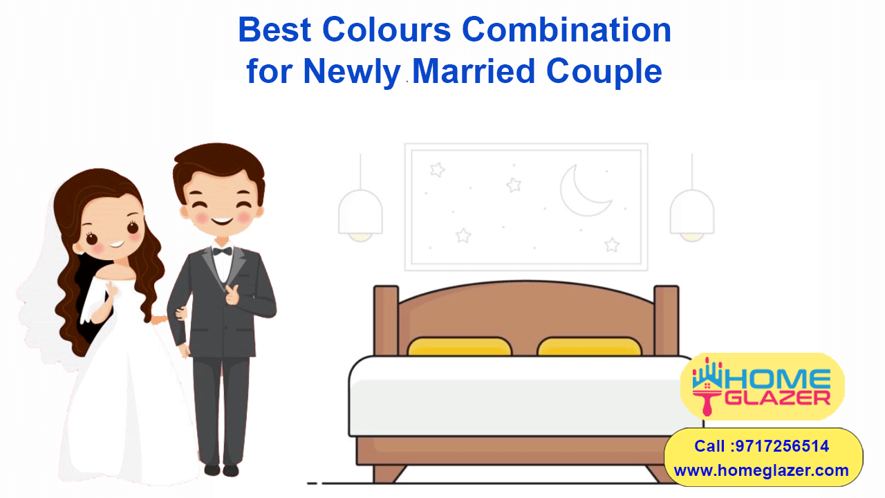 BEST COLOUR COMBINATION FOR THE NEWLY MARRIED COUPLE