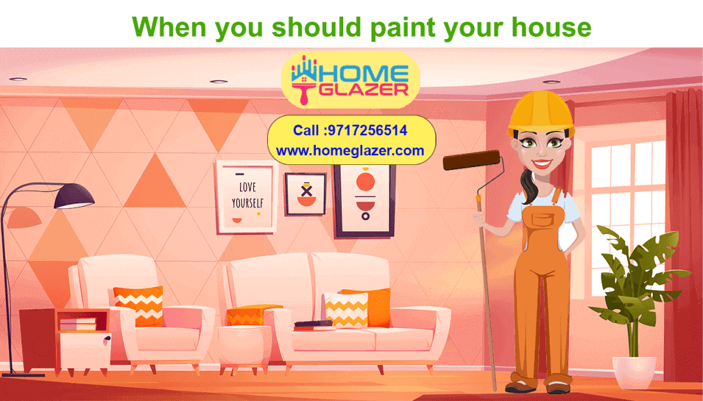 8 Signs that house give for house painting & should paint your house