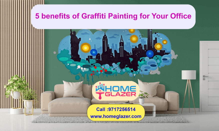 5 benefits of Graffiti Painting for Your Office | Office Decor