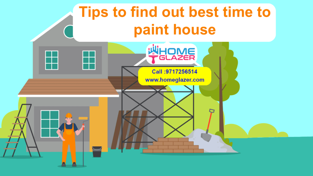 Tips to find out the best time to paint your house Tips to find out the best time to paint your house