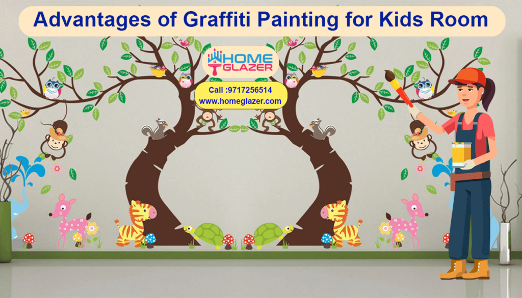 Advantages of Graffiti Painting for Kids Room