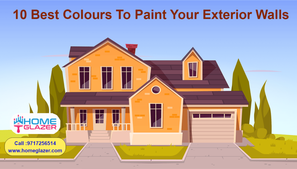 Exterior Wall Painting Ideas | 10 Best Colors for Exterior Painting
