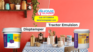 Difference between Distemper paint and Tractor Emulsion Paint