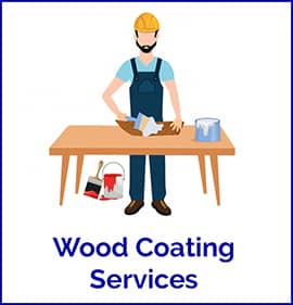 wood coating services by Home Glazer