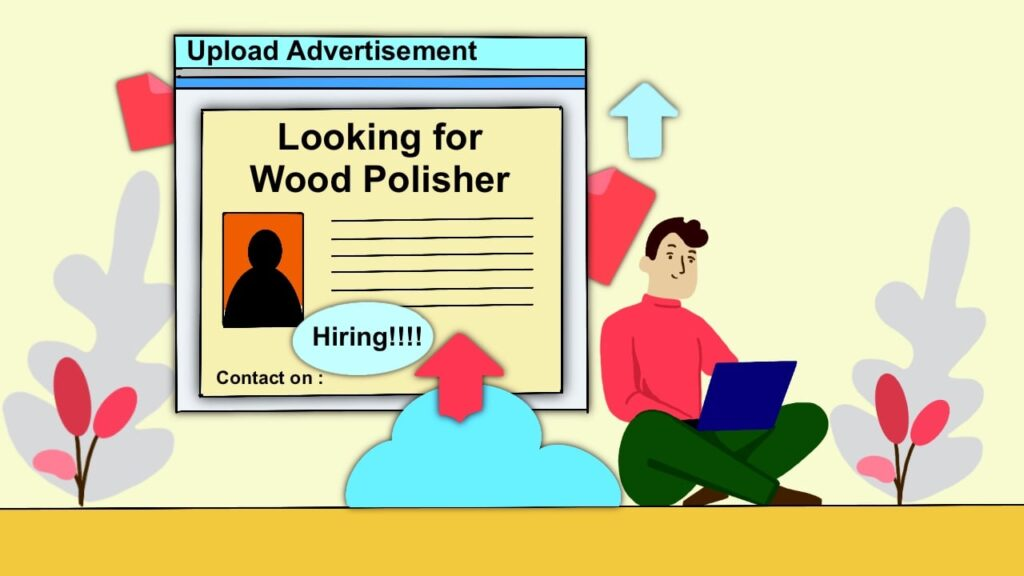 Advertise for Wood Polisher
