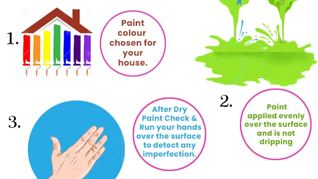 Tips to figure out the quality of paint job
