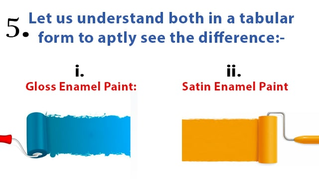 Difference between Gloss Enamel Paint vs Satin Enamel Paint Difference between Gloss Enamel Paint vs Satin Enamel Paint Difference between Gloss Enamel Paint vs Satin Enamel Paint Difference between Gloss Enamel Paint vs Satin Enamel Paint