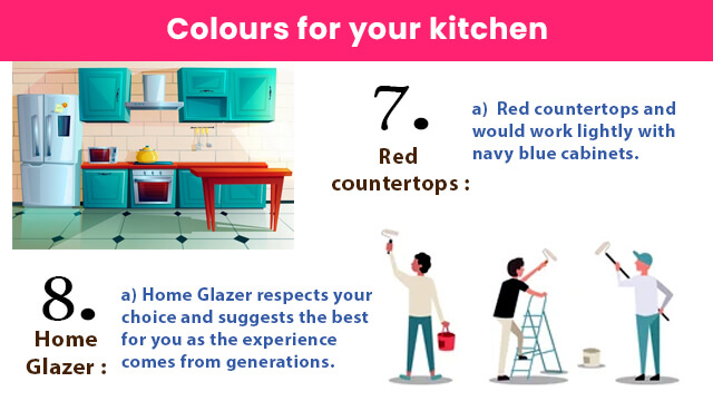 Home Glazer respects your choice and suggests the best for you as the experience comes from generations