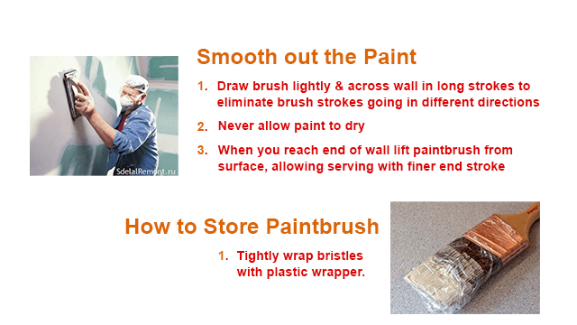 Tips To Use a Paintbrush / Painting Brush | Painter's advice