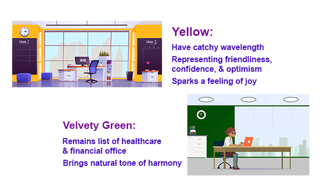 6 Best Colour for Office Spaces   Trending office wall colour