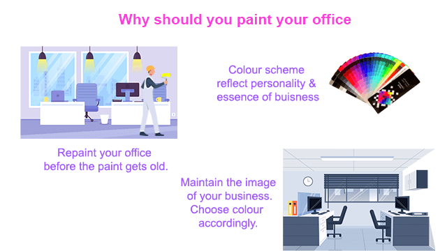 The best time to paint your office, shop or business space