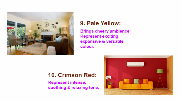 10 Best Colour Combinations for Your Living Room