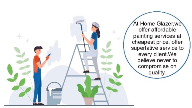 At Home Glazer, we promise to offer affordable painting services at the cheapest prices.