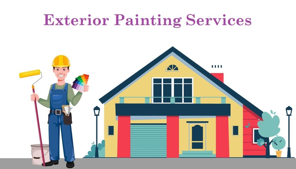 Exterior Painting Services BY Home glazer