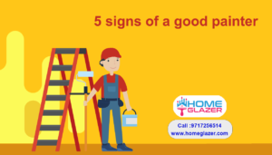 5 signs of a good painter | Home Glazer's Painters